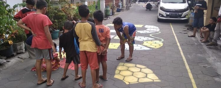 Mural Serufo Untuk Anak-Anak KarangMalang