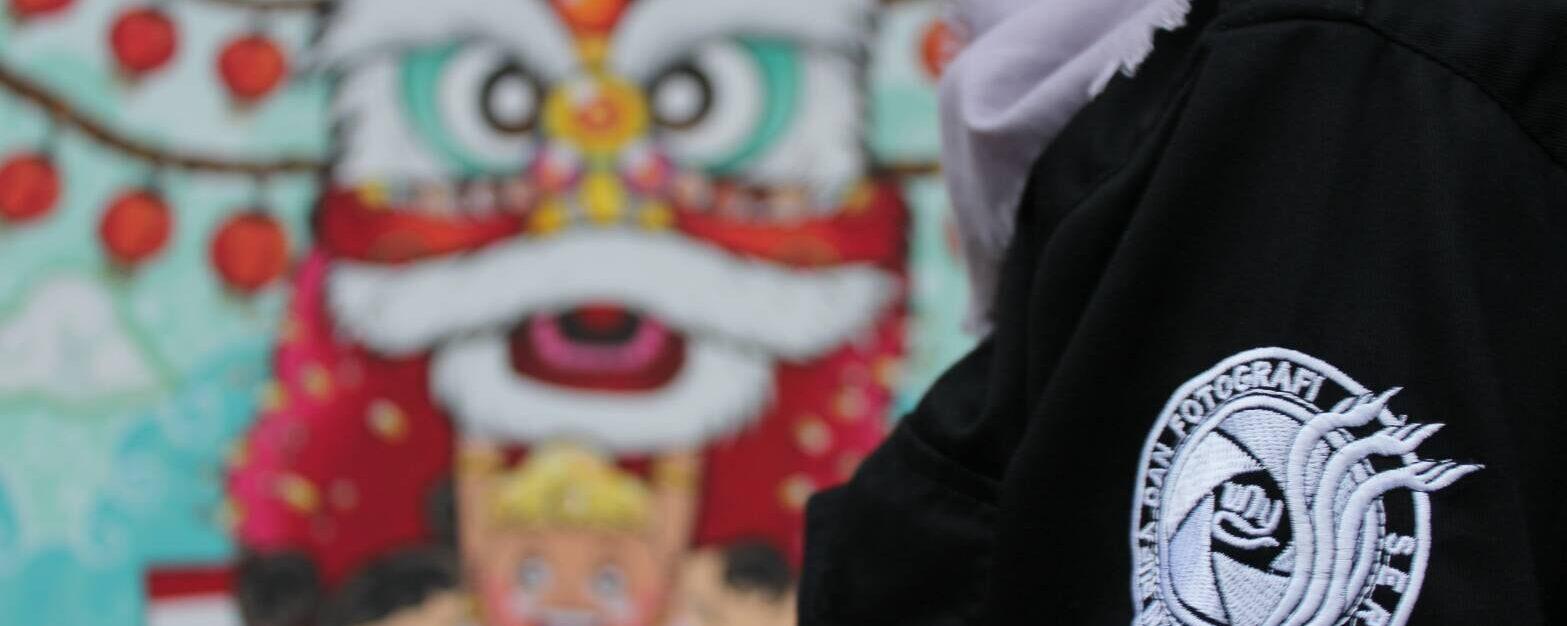 UKM Serufo Juara 1 Lomba Mural di Toboali
