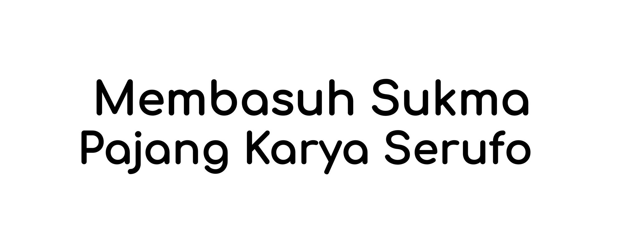 Vote Pajang Karya Membasuh Sukma Serufo UNY